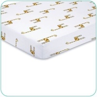 Aden + Anais Cotton Muslin Fitted Baby Cot Sheet Gift Boxed