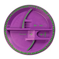 Constructive Eating - Garden Fairy Plate