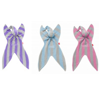 Cuski - Soft Cotton Comforter 2 colours  Bo- Blue Grey. Betty- Pink Grey striped
