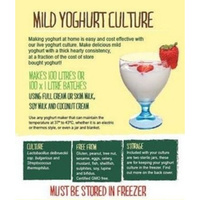 Green Living Australia Mild yoghurt culture - makes 100 litres