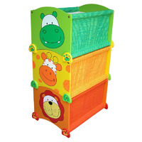 Stack Up Toy Boxes - Giraffe - Lion - Hippo  I'M TOY