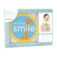 My First Moments Belly Stickers Blue