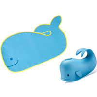 Skip Hop  Moby Non Slip Bath Mat and Soft Spout Cover