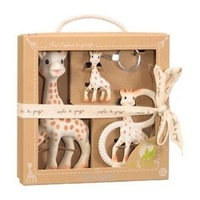 Sophie the Giraffe So pure Trio Baby Gift Set