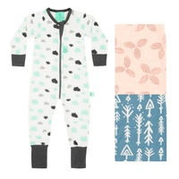 ergoPouch ergoLayers Sleep Wear 0.2 Tog 6 Colours 0 mths to 3yrs (6 sizes)