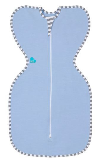 Love-to-Dream-Original-Baby-Swaddle-Up-Zip-Up-1-Tog-Grey-Pink-Blue thumbnail 17