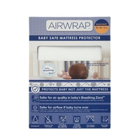 Airwrap Baby Safe Mattress Protector - Bassinet Size: 80 x 40 x 15cm
