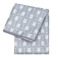 Bumkins Waterproof Splat Mat -  Grey Arrows