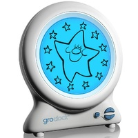 GRO Clock Sleep Trainer and Night Light - Free Storybook included