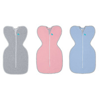 Love to Dream Original Baby Swaddle Up Zip Up 1 Tog Grey Pink Blue