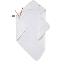 Little Bamboo Hooded Towel - White