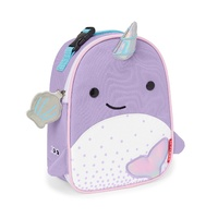 Skip Hop Zoo Lunchies Insulated Lunch Bag Nova Narwhale