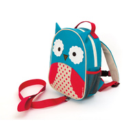 Skip Hop Zoo-Let Toddler Mini Backpack with Rein - Owl