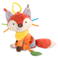 Skip Hop Bandana Buddies Baby Animal Activity Toys   Fox