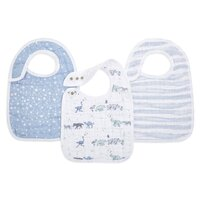 Aden and Anais  3 Pack Classic Snap Bibs  - Rising Star