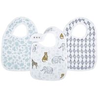 Aden and Anais  3 Pack Classic Snap Bibs  - Jungle