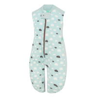 ergoPouch Sleep Suit Bag 0.3 tog - Mint Clouds